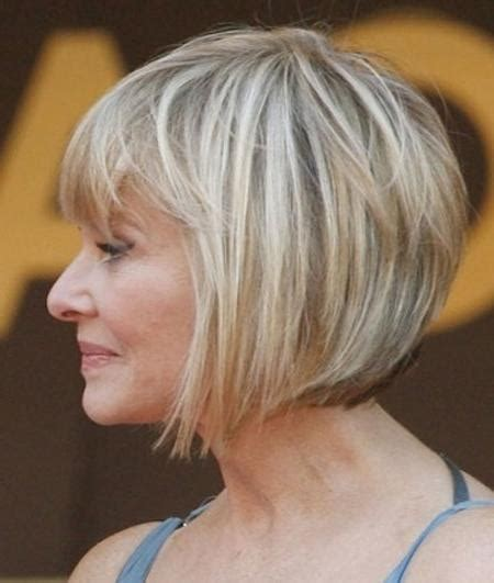 chin length haircuts for 50 year olds 15 best of bob hairstyles for old women