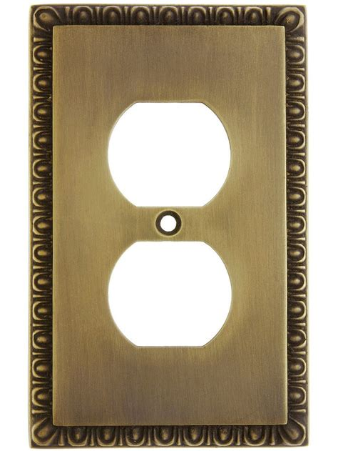 design of cover plates house of antique hardware egg dart design duplex