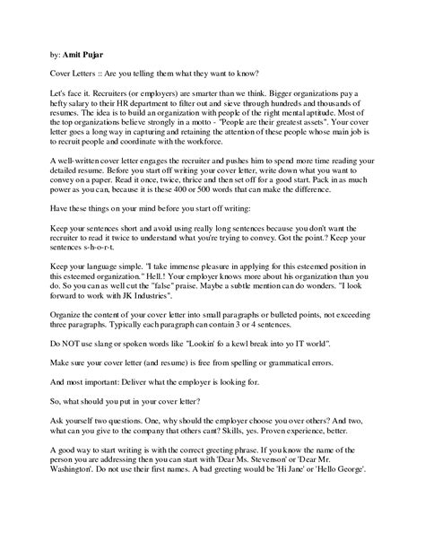 Words To Use In Cover Letter formal letter format salutation business writing