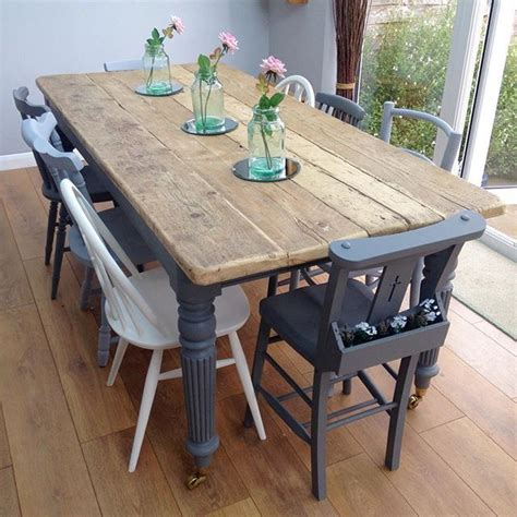 Dining Table Upcycle Ideas Best 20 Farmhouse Table Chairs Ideas On