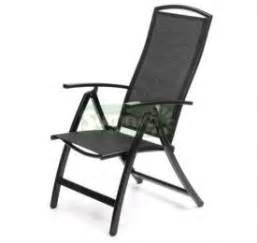 reclining armchair 327 powder coated aluminium