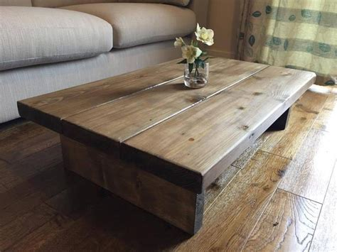 chunky rustic coffee table chunky rustic coffee table mk1 oak stain solid wood