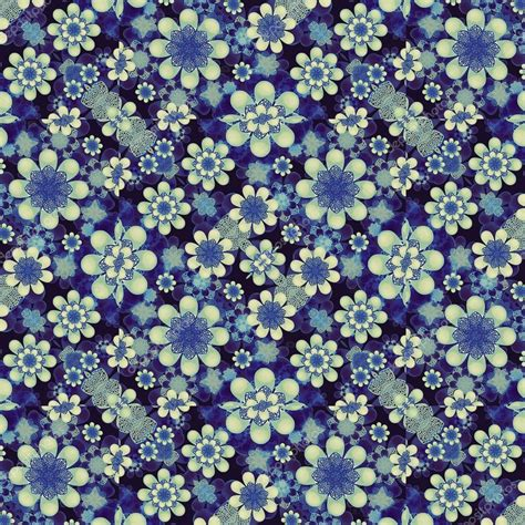 flower pattern modern modern geometric floral pattern collage stock photo