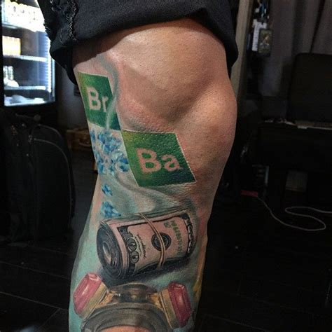 breaking bad tattoo breaking bad leg best ideas designs