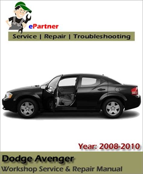 motor repair manual 1997 dodge avenger transmission control dodge avenger service repair manual 2008 2009 automotive service repair manual