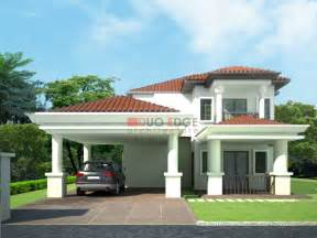 home design bungalows plans and designs fortable malaysia