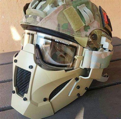 Helm Airsoft Gun airsoft helmet azul airsoft helmet