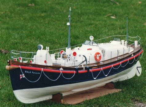 how to build a model boat from scratch rnlb plymouth