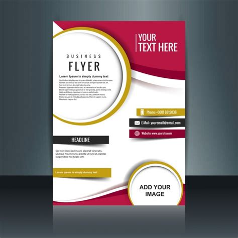 design flyer online for free flyer vectors photos and psd files free download