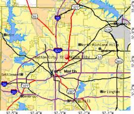 haltom city tx 76180 profile population maps
