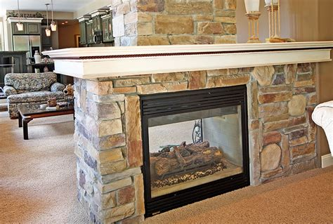 two way fireplaces two way fireplace the benefits homesfeed
