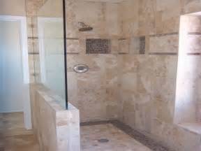 Glass Tile Bathroom Designs by 26 Amazing Pictures Of Ceramic Or Porcelain Tile For Shower