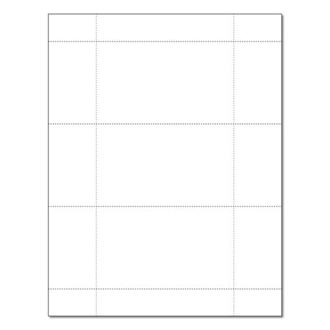 Mead Perforated 3 X 5 Index Card Template by White 3 Up 3 Quot X 5 Quot Perforated Postcard And Index Card