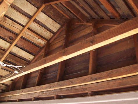 car siding ceiling swett lodge porch