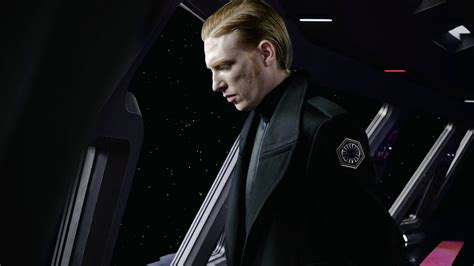 star wars the last 1368008372 new photo of general hux in the last jedi with new details on his story arc