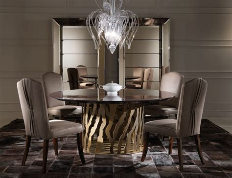 luxury restaurant wooden dining table and chairs for nella vetrina b 52 roberto cavalli home modern luxury italian dining table in wenge oak