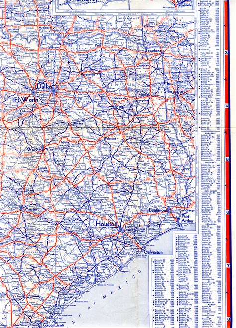 east texas road map highway maps of texas