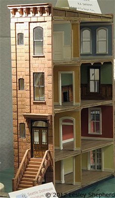 dollhouse quarter 1000 images about quarter inch project brownstone on