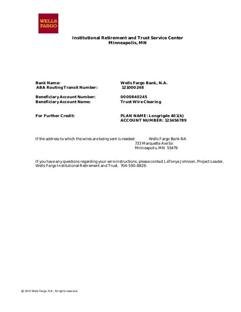 Us Bank Letterhead Fargo Letterhead Free Printable Letterhead
