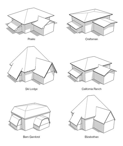 Different Roof Shapes 1000 Images About Architecture Roof Types On