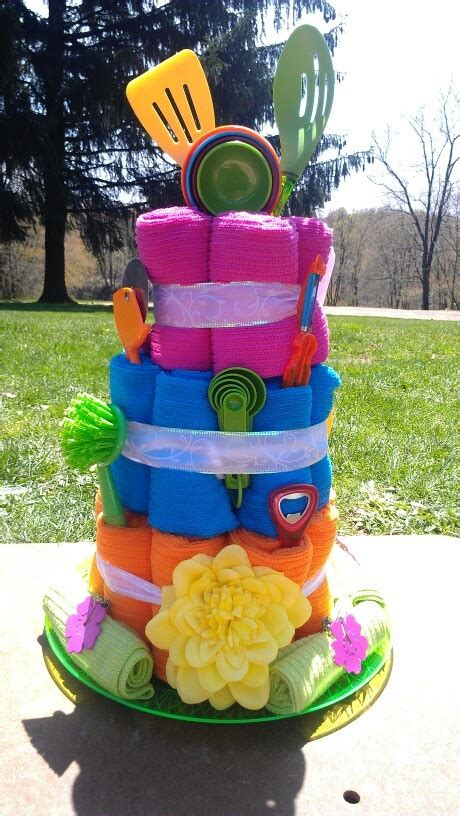 towel cakes for bridal shower how to make bridal shower dish towel cake gift bridal shower gift gifts towel cakes and