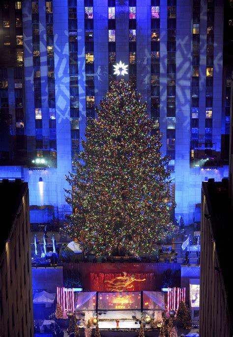 encendido del 225 rbol de navidad de nueva york