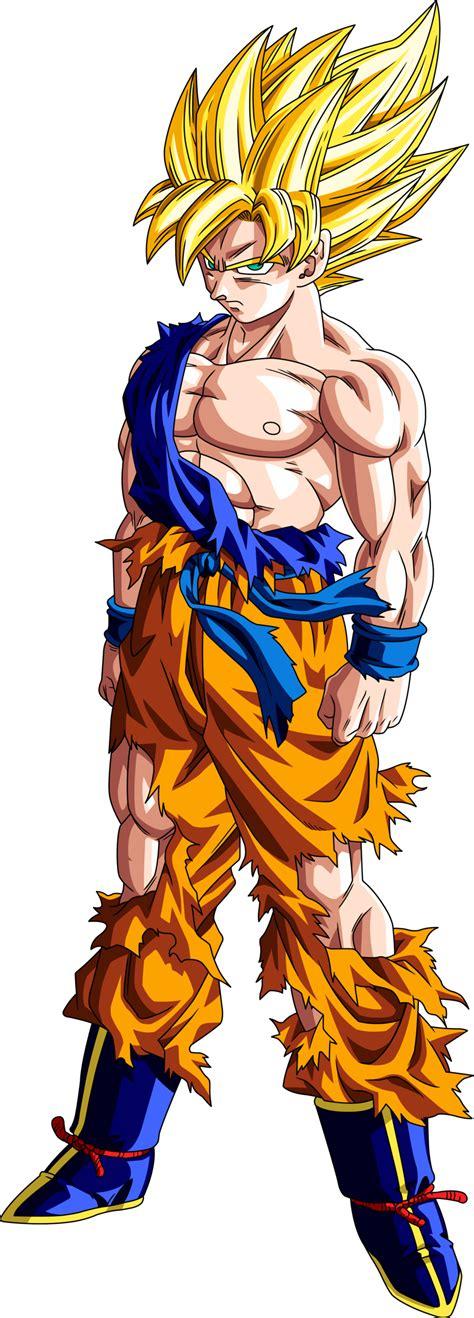 Imagenes Goku Ssj1 | goku ssj1 by maffo1989 on deviantart