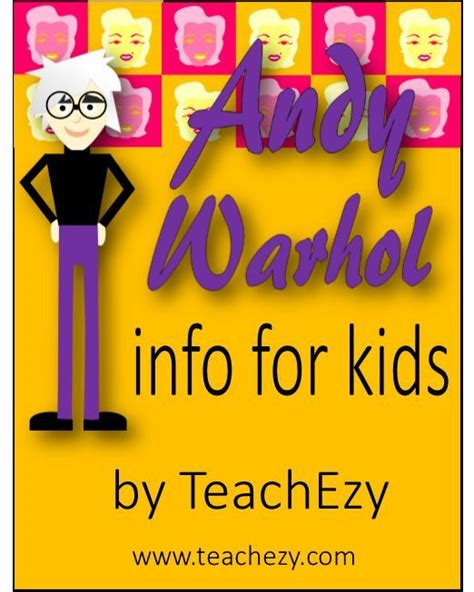 andy warhol biography for students 24 best artist andy warhol images on pinterest art