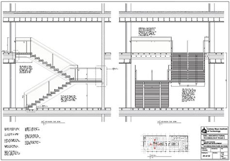 c section stairs galway docks mixed use development on behance