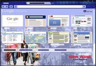 google themes new york 10 th 232 mes google chrome autour du web