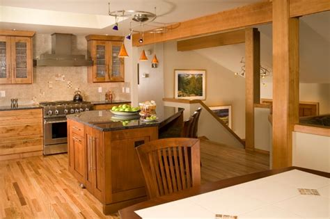 redmond split entry traditional kitchen seattle by