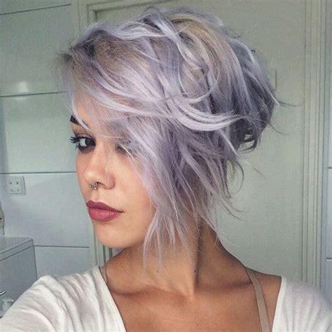 short lavender hair ideas  pinterest lavender