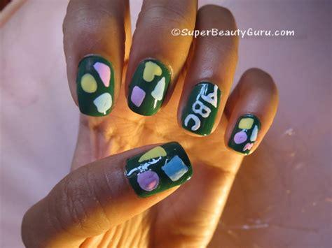 nail art acrylic paint tutorial chalkboard nails chalkboard nail tutorial offbeat look