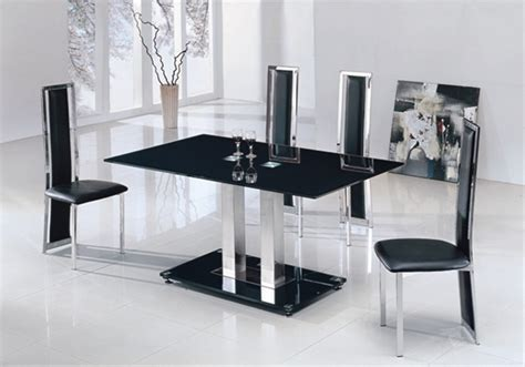 Glass Kitchen Table by Jet Small Glass Dining Table Dining Table And Chairs