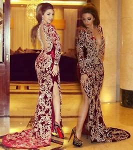 burgundy v neck mermaid evening dresses lace long african