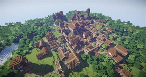 download game fishing town mod arch village realistic fantasy kingdoms minecraft