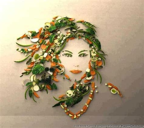 design art and food one of the best creative art i have ever seen