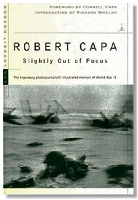 slightly out of focus robert capa (war photographer, magnum)