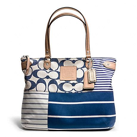 Coachs Colorful New Patchwork Satchel by Patchwork Tote F23967 Coach Handbags