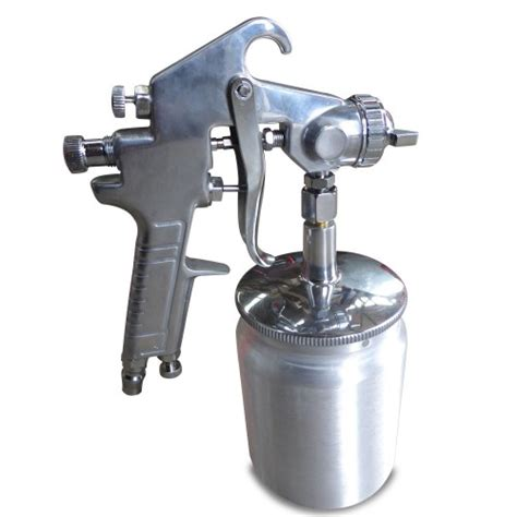 spray paint compressor suction feed heavy duty paint spray gun 600ml 1 4 quot air