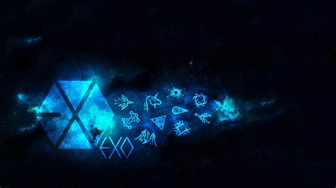 exo video wallpaper exo logo wallpaper wallpapersafari