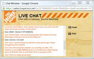 home depot chat ask for a coupon which popular retailers
