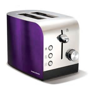 Morphy Richards Accents Toaster 2 Slice Morphy Richards Accents 2 Slice Polished Toaster Plum