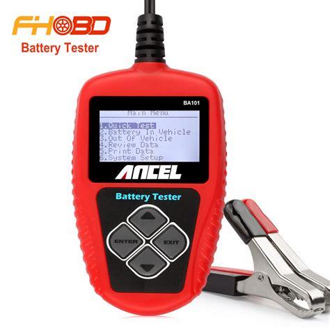 test batteria acquista all ingrosso test batteria auto da