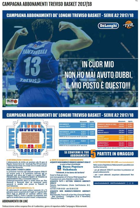 Calendario Partite Serie A2 Basket Sport Basket Treviso De Longhi Cionato Italiano