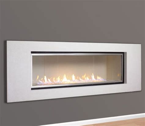 Direct Vent Linear Fireplace by Halcyon Direct Vent Linear Fireplace Fireplaces