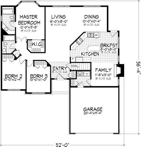 home floor plans no garage awesome 3 bedroom house plans no garage new home plans design