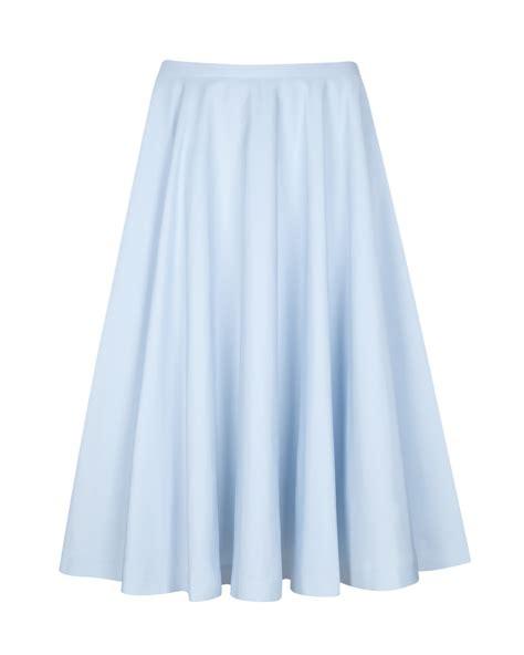 ted baker ballet skirt in blue lyst