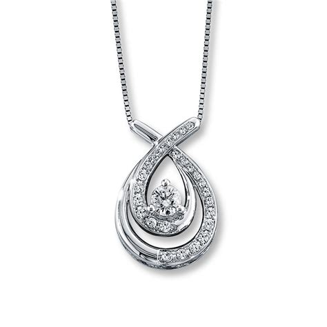 s embrace necklace from jewelers 1 2 ct