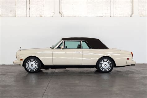 rolls royce corniche ii 1986 rolls royce corniche ii convertible classic car